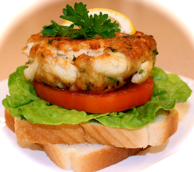 Best Crab Cake Sandwich Annapolis