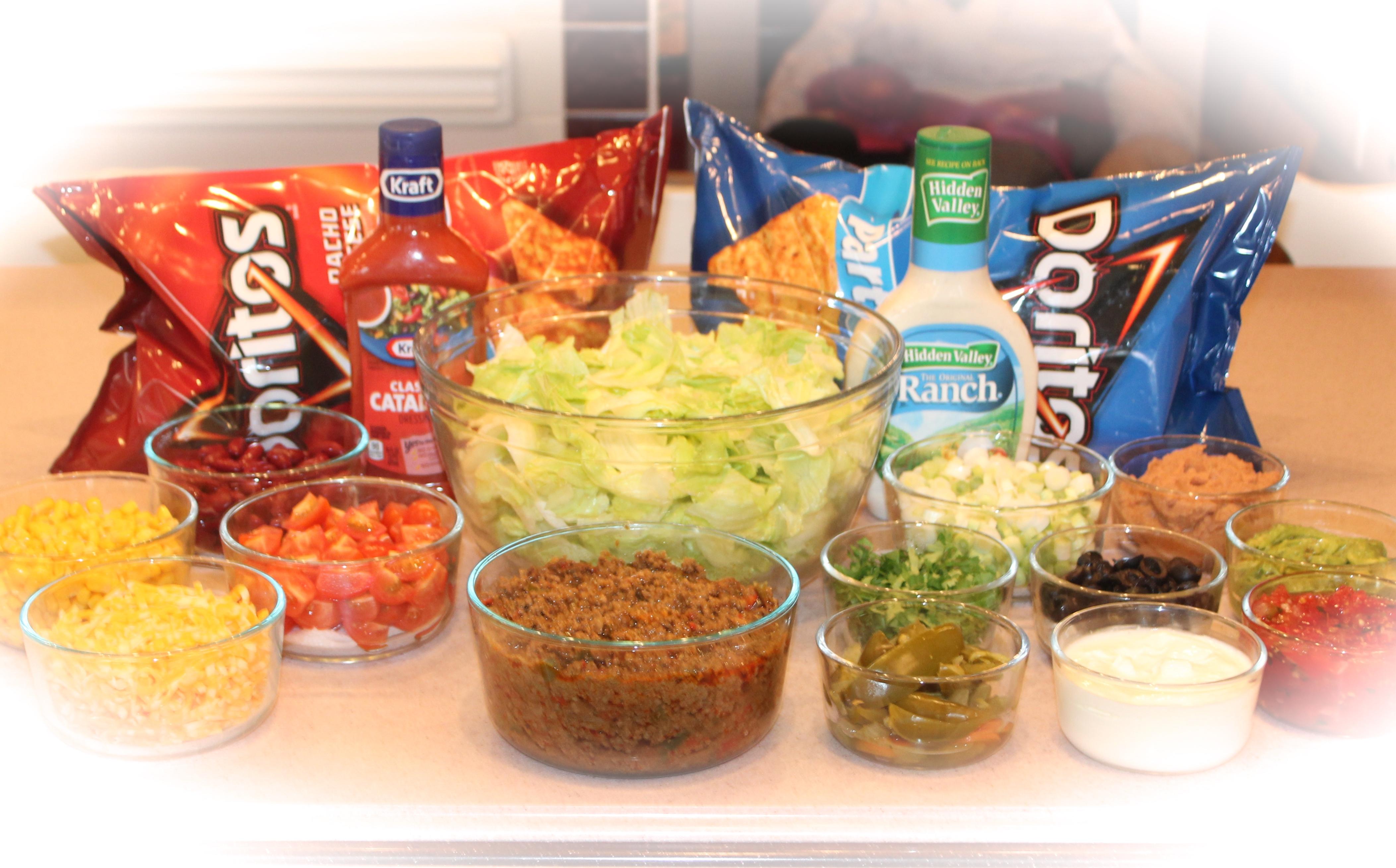 Taco Salad Recipe With Hidden Valley Ranch